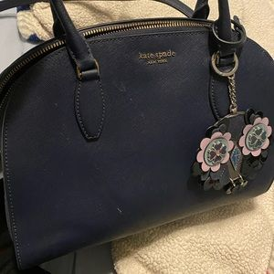 Kate Spade bag with charm and wallet// great deal